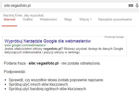 usunięcie z indeksu Google