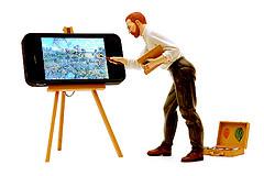 urządzenie mobilne w Google
