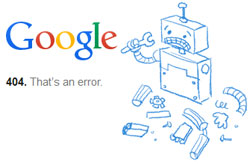 404 google