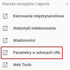 GSC parametry w url